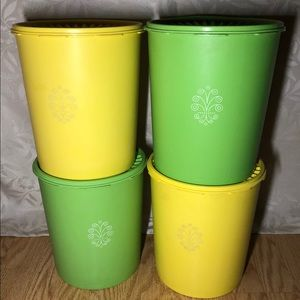 Large servalier tupperware containers
